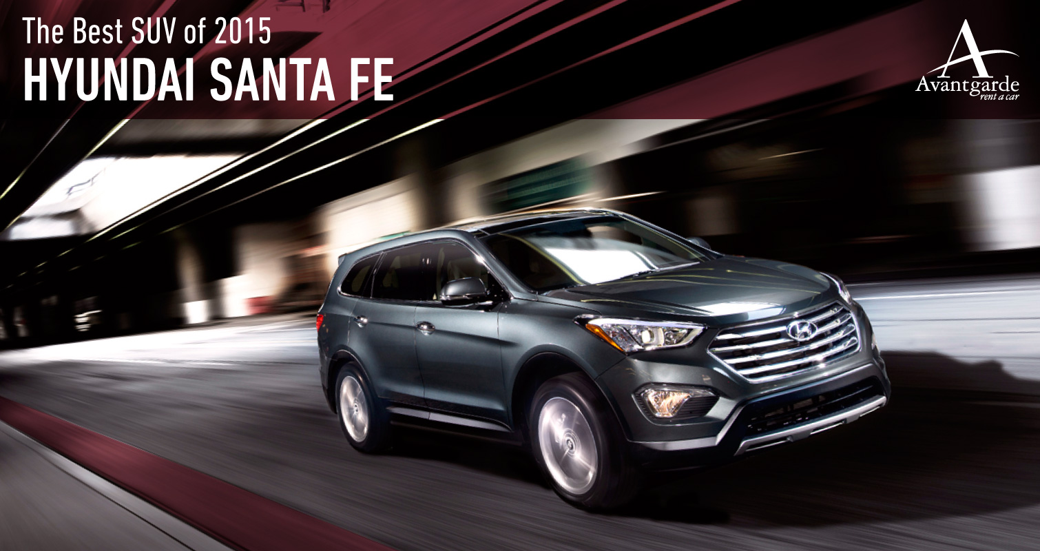 Rent the all new Hyundai Santa FE